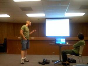 JoeFish speaking about Squaxin SalmonFisheries