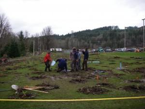 2007 Skookum Creek Riparian Restoration Project